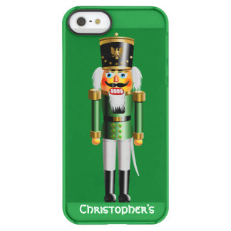 Nutty Nutcracker Toy Soldier In Green Uniform Permafrost® iPhone SE/5/5s Case