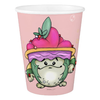 NUTTY PET CUTE ALIEN PAPER CUP