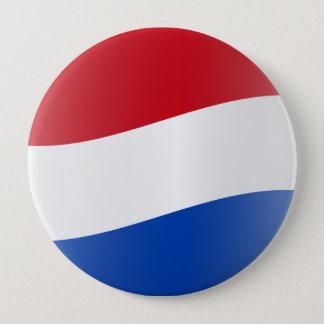 Nuvola Dutch, Netherlands 4 Inch Round Button