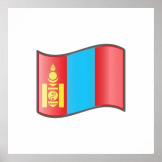 Nuvola Mongolian, Mongolia Print