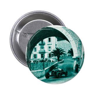 Nuvolari RK the 1932 Monaco Monaco Prix 2 Inch Round Button