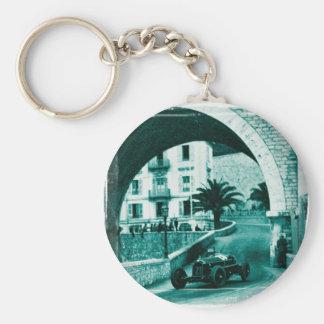 Nuvolari RK the 1932 Monaco Monaco Prix Keychain