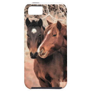 Nuzzling Horses iPhone 5 Covers