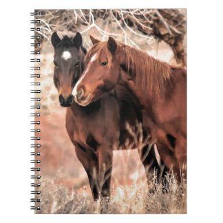 Nuzzling Horses Notebook