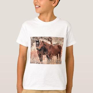 Nuzzling Horses T-Shirt