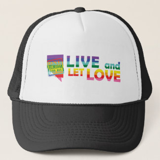 NV Live Let Love Trucker Hat