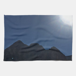 Nv mountain range hand towel