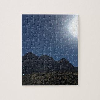 Nv mountain range jigsaw puzzle