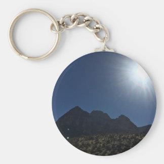Nv mountain range keychain