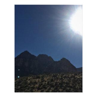 Nv mountain range letterhead