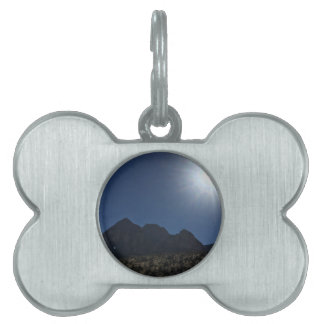 Nv mountain range pet tag