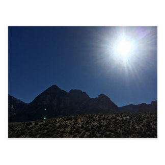 Nv mountain range postcard