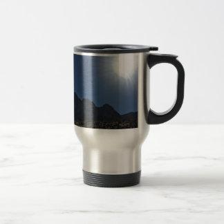 Nv mountain range travel mug