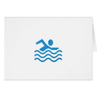NVN24 navinJOSHI Swimming Sucess Swim Swimmer 101 Greeting Card