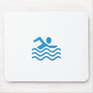 NVN24 navinJOSHI Swimming Sucess Swim Swimmer 101 Mouse Pad
