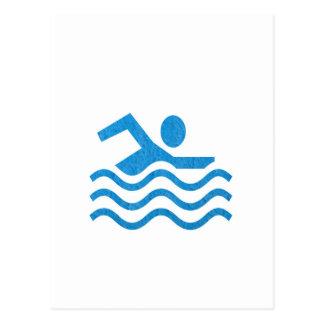 NVN24 navinJOSHI Swimming Sucess Swim Swimmer 101 Postcard