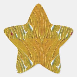 NVN25 navinJOSHI Sparkle Gold Jewel Pattern  101 Star Sticker