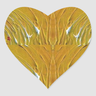 NVN25 navinJOSHI Sparkle Gold Jewel Pattern  101 Heart Sticker