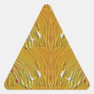 NVN25 navinJOSHI Sparkle Gold Jewel Pattern  101 Triangle Sticker