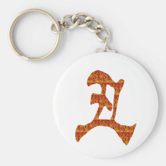 NVN30 navinJOSHI Chinese Character Golden Red GIFT Key Chain
