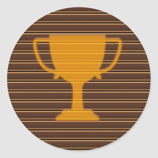 NVN342 Award Trophy Cup Winner FUN DECO Motivation Sticker