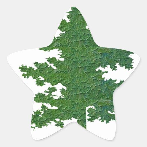 NVN37 navinJOSHI Symbolic Green Environment Tree Stickers