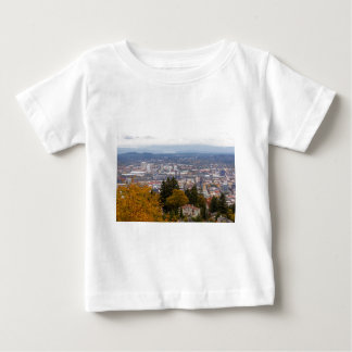 NW and NE Portland Cityscape during Fall Season Baby T-Shirt