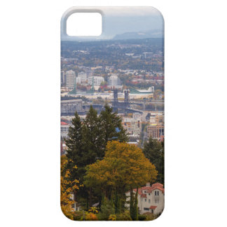 NW and NE Portland Cityscape during Fall Season Case For The iPhone 5