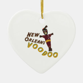 Nw Orleans Voodoo Doll Ceramic Ornament
