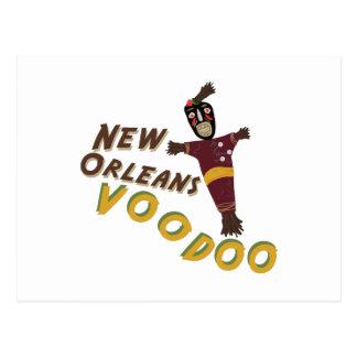 Nw Orleans Voodoo Doll Postcard