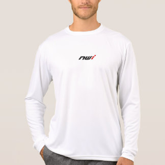 NWI White Performance Microfiber Shirt