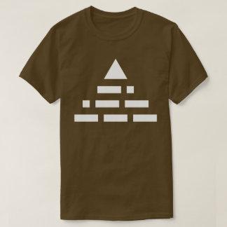 NWO (morse code) pyramid 2nd white T-Shirt