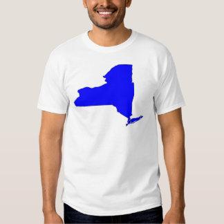 NY Blue State T Shirts