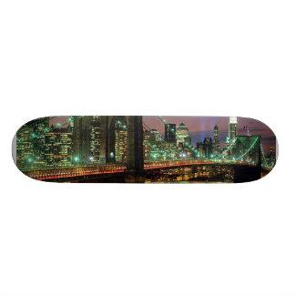 NY Brooklyn Bridge Skateboard