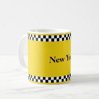 NY Cab mug