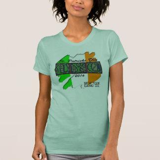 Ny Camo Co 2016 Irish Flag Rubout Womens T shirt