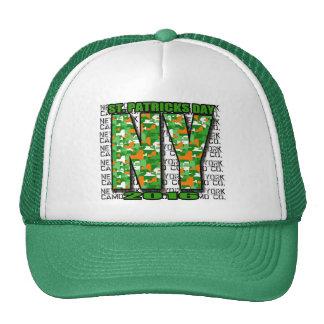 NY Camo Co 2016 St Pat's Day BOLD NY Trucker Hat