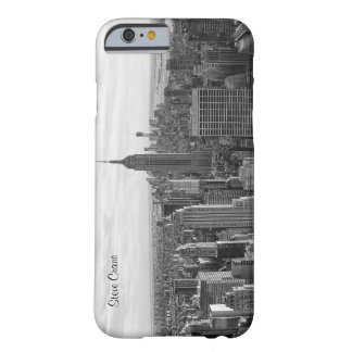 NY City Skyline Empire State Building, WTC BW 4 Barely There iPhone 6 Case