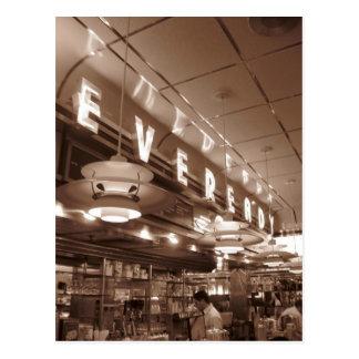 NY Diner Postcard 2