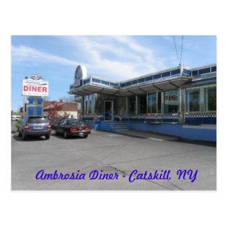 NY Diner Postcard 3