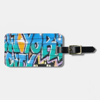 ny graffiti tags for luggage