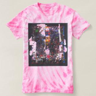 NY New Years eve night tie dye t-shirt