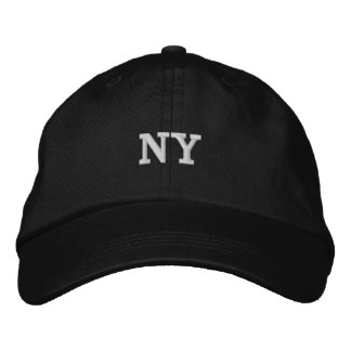 NY New York City Embroidered Hat