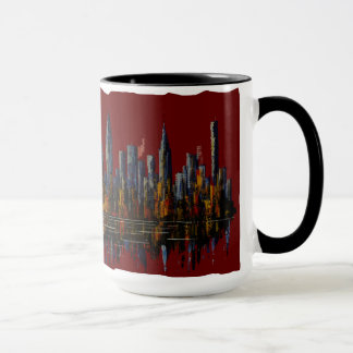 NY New York, I love New York, the Big Apple Mug