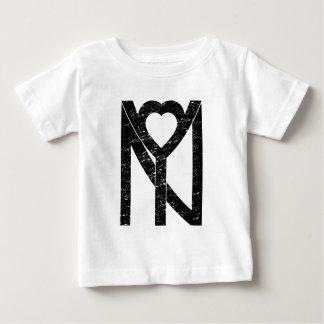 NY New York love Baby T-Shirt