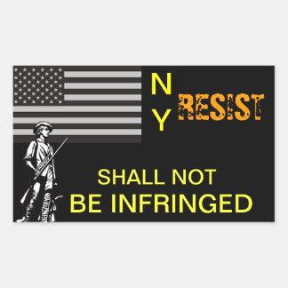 NY Resistance Sticker