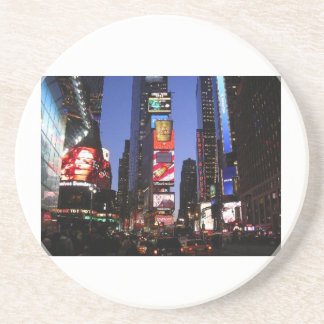 NY TIME SQUARE BEVERAGE COASTERS