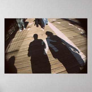 NY walk Poster