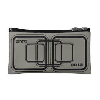 NYC 2018 Gray Cosmetic Bag