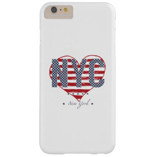 NYC American Flag Heart Barely There iPhone 6 Plus Case